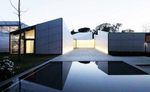Nhà lấy cảm hứng từ nghệ thuật xếp giấy Origami