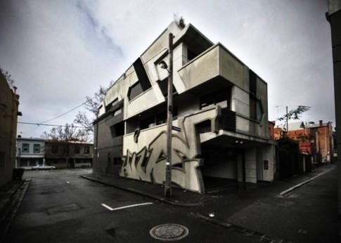 Nhà mang phong cách graffiti độc đáo ở Melbourne