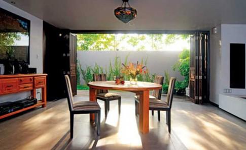 Nhà Sài Gòn giản dị, ngập sắc thiên nhiên