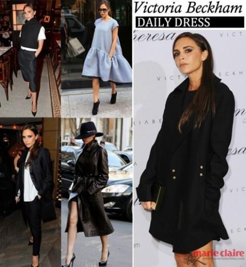 Nhìn lại năm thời trang đẳng cấp của Victoria Beckham