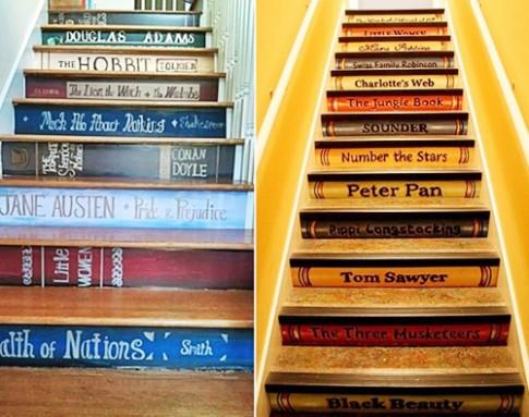 Những bậc cầu thang vừa đẹp vừa ý nghĩa