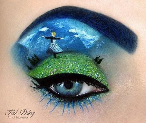 """Những """"đôi mắt biết nói"""" qua nghệ thuật trang điểm"""