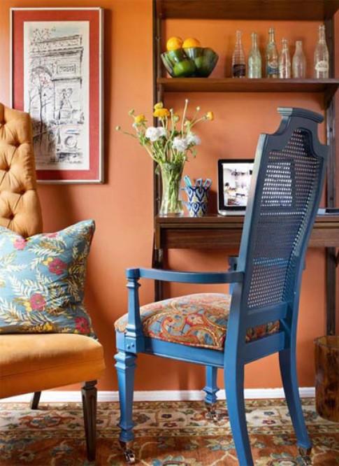 Những gam màu nội thất 'lên ngôi' thu 2012