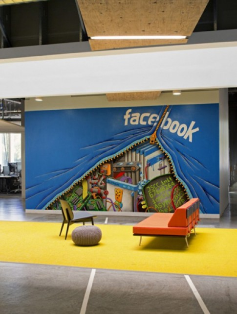 Những góc tinh nghịch ở trụ sở chính của Facebook