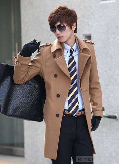 Những kiểu áo khoác 'manly' cho các chàng trai