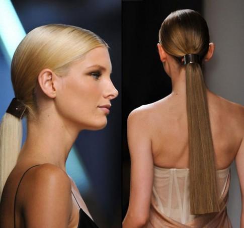 Những kiểu tóc đi đầu xu hướng xuân hè 2015