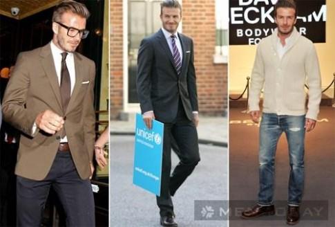 Những trang phục ấn tượng của Becks trong năm 2012