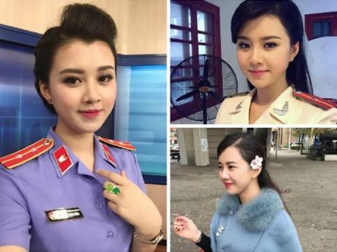 Nữ cảnh sát xinh đẹp 'gây mê' cộng đồng mạng