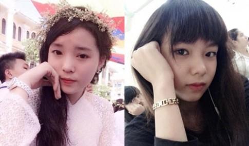 Nữ sinh Báo chí nhận 'bão like' vì giống hệt Hoa hậu Kỳ Duyên