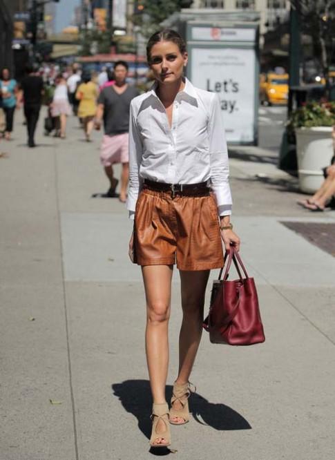 Phong cách thời trang biến hóa của Olivia Palermo