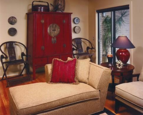 Phòng khách phù hợp với nhiều thế hệ trong gia đình