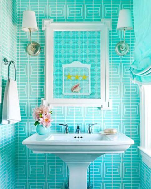 Phòng tắm bắt mắt với thiết kế lạ
