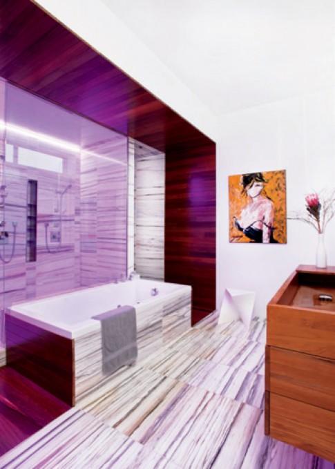 Phòng tắm thiết kế theo phong cách 'Techno'