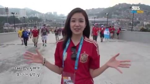 PV Hàn Quốc gây sốt World Cup nhờ 'dao kéo'