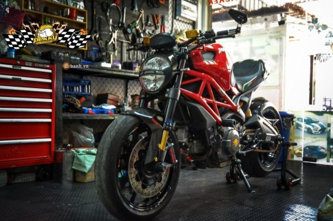Quái vật Ducati Monster 795 đầy tinh tế với vẻ ngoài sang chảnh