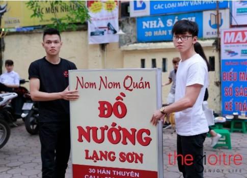 Quán bánh mỳ nướng toàn trai đẹp ở Hà Nội