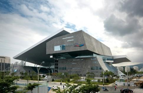 Rạp chiếu phim 'khủng' ở Busan, Hàn Quốc