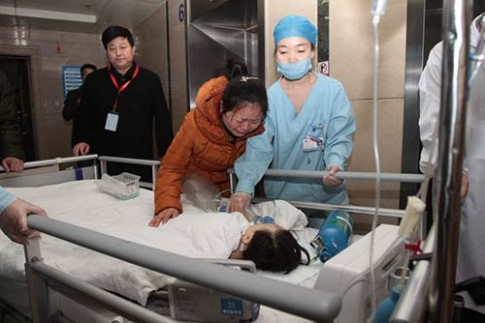 Rơi lệ vì bé 2 tuổi hiến tạng rồi chết