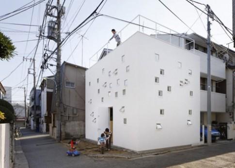 Room Room - ngôi nhà cho người khiếm thính tại Nhật