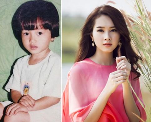 Sao Việt xinh xắn, đáng yêu từ bé