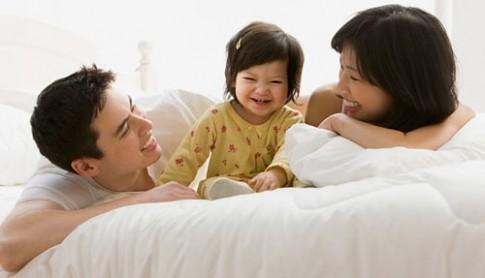 Sau sinh con, vợ chồng yêu nhau thắm thiết