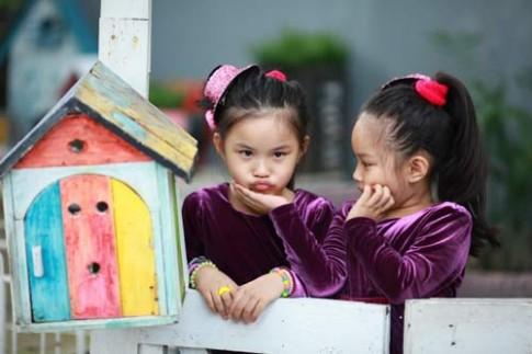 Siêu mẫu nhí: Chị em Song Nghi khoe sắc