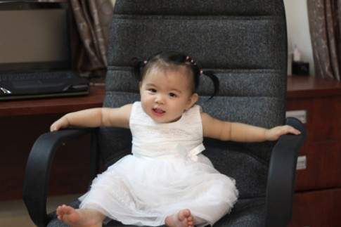 Siêu mẫu nhí: Cô nàng Hàn Kuo Ni Sha dễ thương