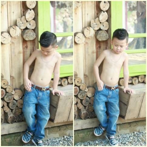 Siêu mẫu nhí: Hotboy Nam Khánh điển trai