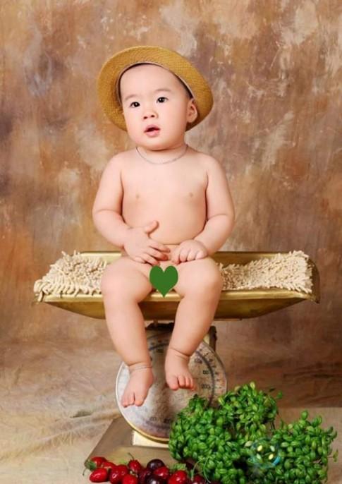 Siêu mẫu nhí: Hotboy Quang Minh cực bảnh
