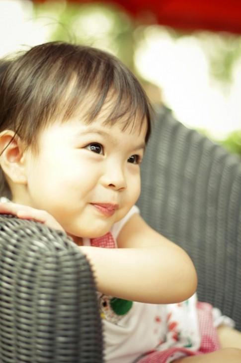 Siêu mẫu nhí: Trúc Anh vẻ đẹp dịu dàng!