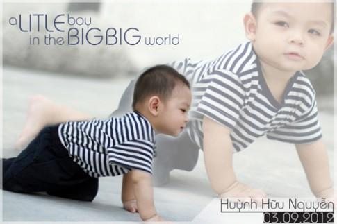 Siêu mẫu nhí: Tý em Hữu Nguyễn thật đáng yêu!