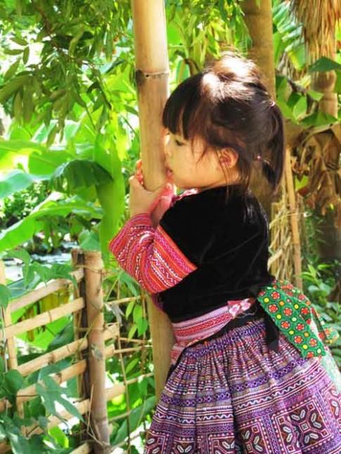 Siêu mẫu nhí: Vẻ đẹp núi rừng Nông Thanh Trúc