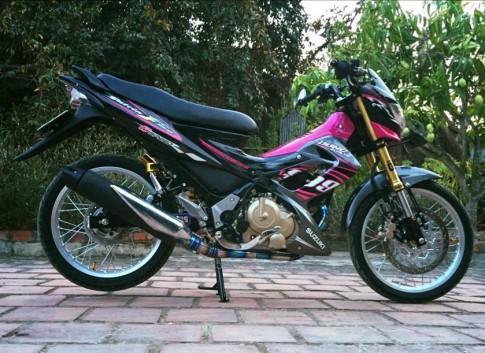 Suzuki raider 150cc con xe mang kiểu dáng hyper-underbone đậm chất thể thao