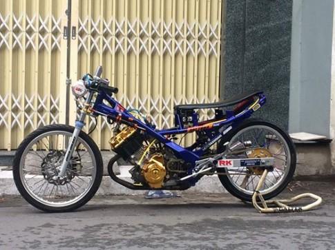 Suzuki raider hưởng ứng giải đua 201m