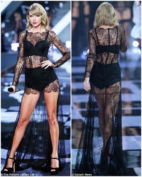 Taylor Swift - thiên thần thứ 9 của Victoria's Secret Show