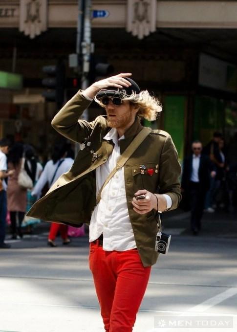 Tham khảo thời trang nam từ thành phố Melbourne