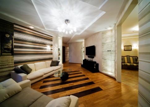 Thể hiện phong cách và sức sáng tạo trên trần nhà
