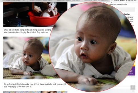 Thêm nghi vấn một cháu bé bị đánh tráo ở chùa Bồ Đề