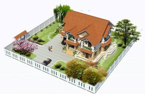 Thiết kế biệt thự theo phong cách Pháp