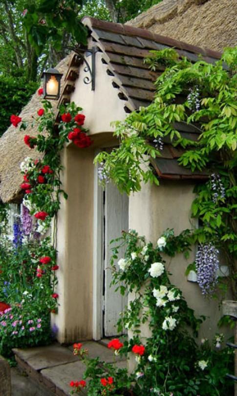Thiết kế cổng đẹp cho nhà vườn