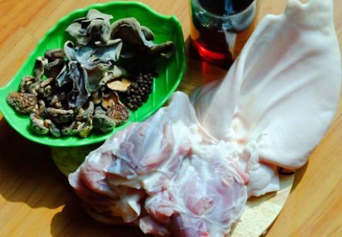 Thịt đông, món ăn không thể thiếu ngày Tết