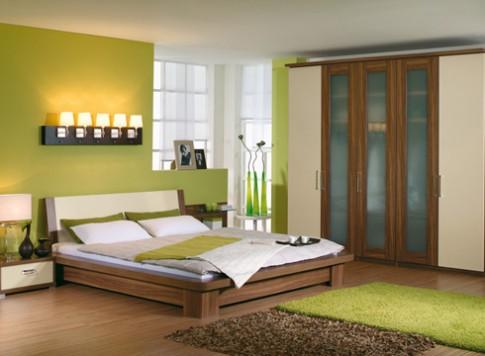 Tiết kiệm không gian với tủ gỗ âm tường