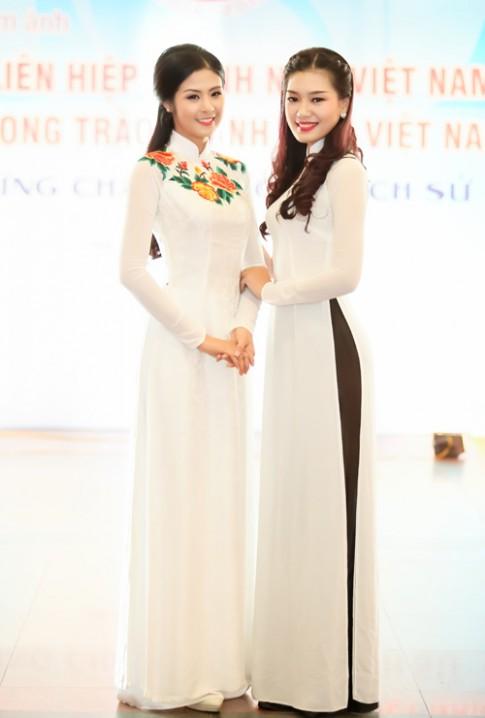 Top 5 HHVN 2014 dep diu dang trong ta ao dai