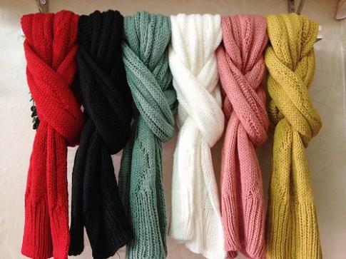 Top 6 loại khăn được yêu thích nhất khi mùa gió về