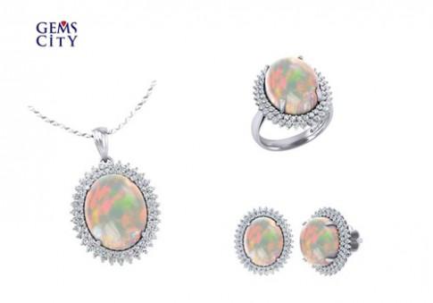 Trang sức đá Opal dành tặng mẹ