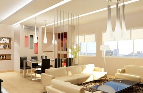 Trang trí trần cho căn hộ chung cư