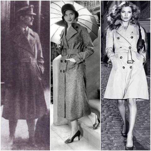 Trench coat: từ áo mưa đến áo khoác nữ thời trang