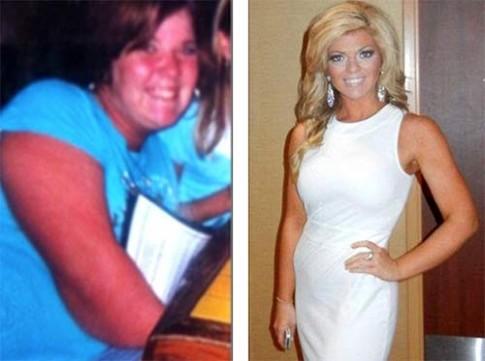 Trở thành Hoa hậu sau khi giảm 45kg