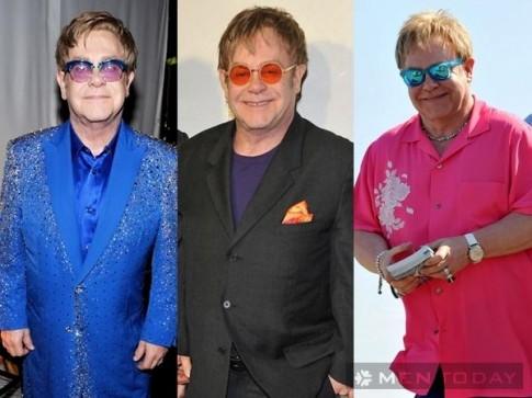 Tủ đồ hào nhoáng của danh ca Elton John