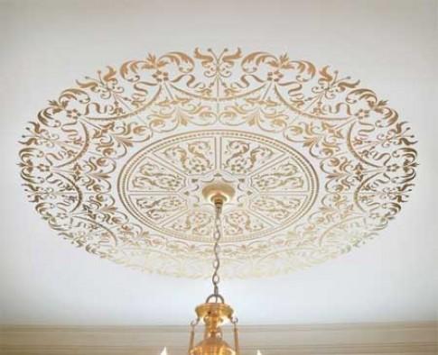 """""""Tuyệt chiêu"""" trang trí trần nhà đẹp mê ly"""